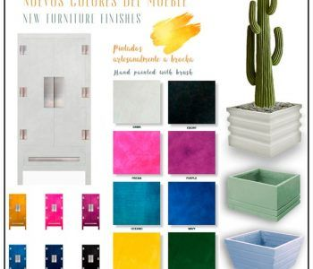 NEW COLOURS FOR FURNITURE AND CERAMICS